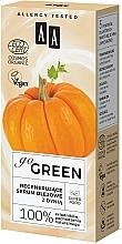Regenerierendes Ölserum für das Gesicht mit Kürbis - AA Go Green — Bild N4