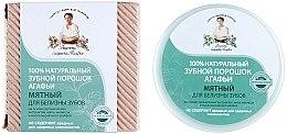 Düfte, Parfümerie und Kosmetik 100% Natürliches aufhellendes Zahnpulver mit Minzextrakt - Rezepte der Oma Agafja