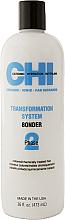Düfte, Parfümerie und Kosmetik Zwei-Phasen-System für eine dauerhafte und glänzende Haarglättung für gefärbtes und chemisch behandeltes Haar Phase 2 Formel B - CHI Transformation Bonder Formula B