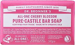 Düfte, Parfümerie und Kosmetik Universale Seife mit Kirschblütenduft - Dr. Bronner's All-One! Cherry Blossom Pure-Castile Bar Soap