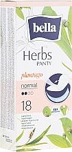 Düfte, Parfümerie und Kosmetik Slipeinlagen Panty Herbs Sensetive Plantago 18 St. - Bella