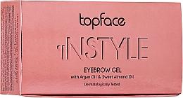 Düfte, Parfümerie und Kosmetik Augenbrauengel - Topface Instyle Gel
