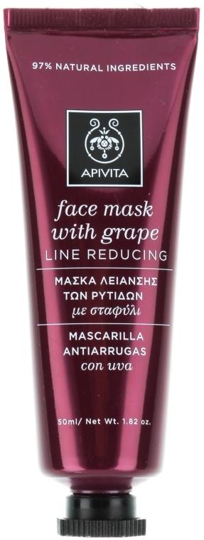 Anti-Falten Gesichtsmaske mit Trauben - Apivita Moisturizing Face Mask With Grape — Bild N1
