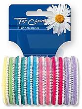 Düfte, Parfümerie und Kosmetik Haargummis Farb-Mix 12 St. 22234 - Top Choice