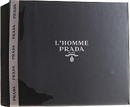 Düfte, Parfümerie und Kosmetik Prada L'Homme Prada - Duftset (Eau de Toilette 50ml + Duschgel 100ml)