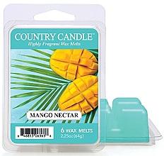 Düfte, Parfümerie und Kosmetik Tart-Duftwachs Mango Nectar - Country Candle Wax Melt Mango Nectar