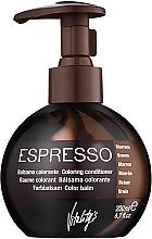 Düfte, Parfümerie und Kosmetik Revitalisierender und pflegender Farbbalsam für alle Haartypen - Vitality's Art Espresso