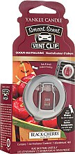 Düfte, Parfümerie und Kosmetik Auto-Lufterfrischer Black Cherry Duftclips - Yankee Candle Smart Scent Vent Clip Black Cherry