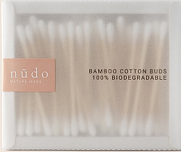 Düfte, Parfümerie und Kosmetik Bambus-Wattestäbchen - Nudo Nature Made Bamboo Cotton Buds