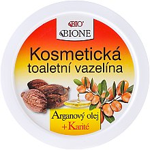 Düfte, Parfümerie und Kosmetik Kosmetische Vaseline mit Arganöl und Sheabutter - Bione Cosmetics Argan Oil Vaseline Cream