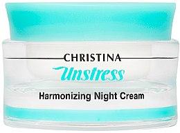 Düfte, Parfümerie und Kosmetik Harmonisierende Nachtcreme - Christina Unstress Harmonizing Night Cream
