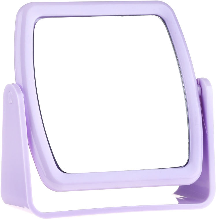Standspiegel 85727 quadratisch violett - Top Choice Beauty Collection Mirror