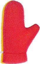 Düfte, Parfümerie und Kosmetik Massage-Badehandschuh 6021 gelb-rosa - Donegal Aqua Massage Glove