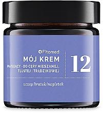 Düfte, Parfümerie und Kosmetik Mattierende Gesichtscreme für gemischte, fettige und zu Akne neigende Haut - Fitomed Herbal Cream Nr12