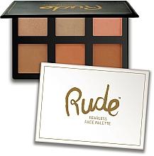 Düfte, Parfümerie und Kosmetik Gesichtskontur-Palette - Rude Fearless Face Palette