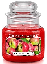 Düfte, Parfümerie und Kosmetik Duftkerze im Glas Macintosh Apple - Country Candle Macintosh Apple