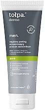 Düfte, Parfümerie und Kosmetik Reinigungspeeling gegen Mitesser für Männer - Tolpa Dermo Men