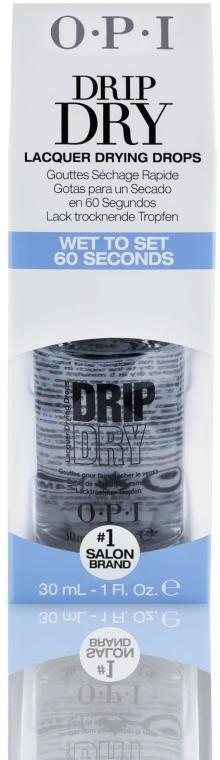 Nagellack-Schnelltrocknungstropfen - O.P.I Drip Dry Drops — Bild N2