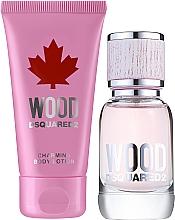Düfte, Parfümerie und Kosmetik Dsquared2 Wood Pour Femme - Duftset (Eau de Toilette 30ml + Körperlotion 50ml)