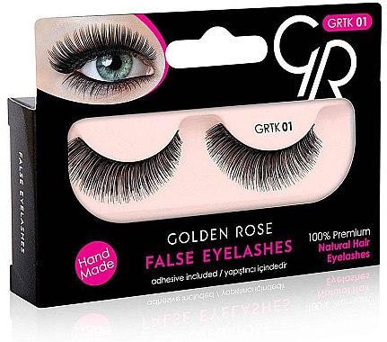 Künstliche Wimpern - Golden Rose False Eyelashes — Bild N1