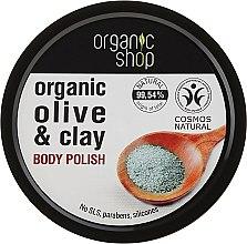 Düfte, Parfümerie und Kosmetik Körperpeeling mit Bio Olivenöl und Tonerde - Organic Shop Body Scrub Organic Olive & Clay