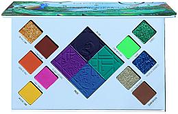 Düfte, Parfümerie und Kosmetik Lidschattenpalette - Moira Wild In Colors Palette