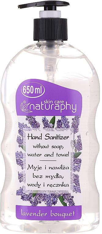 Antibakterielles Handgel mit Alkohol und Lavendelduft - Bluxcosmetics Naturaphy Alcohol Hand Sanitizer With Lavender Fragrance