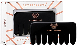 Düfte, Parfümerie und Kosmetik Massage-Haarkamm aus Obsidian - Crystallove