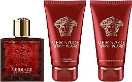 Düfte, Parfümerie und Kosmetik Versace Eros Flame - Duftset (Eau de Parfum 50ml + Duschgel 50ml + After Shave Balsam 50ml)