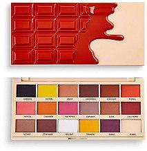 Düfte, Parfümerie und Kosmetik Lidschattenpalette - I Heart Revolution Eyeshadow Chocolate Palette Cinnamon