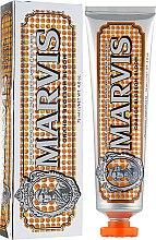 Düfte, Parfümerie und Kosmetik Zahnpasta mit fruchtiger Orangenblüte und erfrischender Pfefferminz - Marvis Orange Blossom Bloom