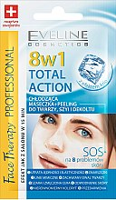 Düfte, Parfümerie und Kosmetik Kühlende Gesichtsmaske + Peeling - Eveline Cosmetics Therapy