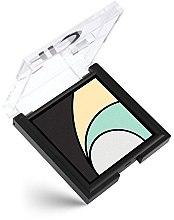 Düfte, Parfümerie und Kosmetik Lidschatten - Golden Rose Longstay Eyeshadow Quattro