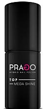 Düfte, Parfümerie und Kosmetik Hybrid-Nagelüberlack - Prago Top Mega Shine