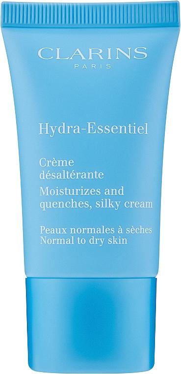 Intensiv feuchtigkeitsspendende Gesichtscreme für normale bis trockene Haut - Clarins Hydra-Essentiel Normal to Dry Skin Cream