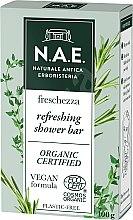 Düfte, Parfümerie und Kosmetik Erfrischende Duschseife mit Bio Thymianblätter und Rosmarinextrakt - N.A.E. Refreshing Body Bar