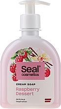 Düfte, Parfümerie und Kosmetik Cremeseife mit Himbeerdessert - Seal Cosmetics Cream Soap