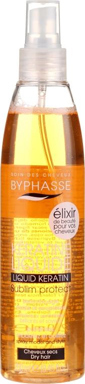 Schutzspray für trockenes Haar mit Keratin - Byphasse Activ Protect