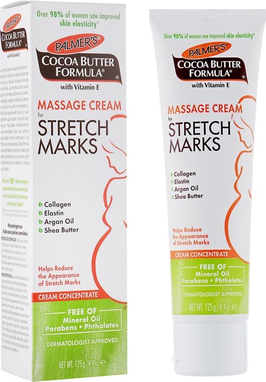 Massagecreme für Dehnungsstreifen mit Kollagen, Elastin, Arganöl und Sheabutter - Palmer's Cocoa Butter Formula Massage Cream for Stretch Marks