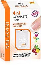Düfte, Parfümerie und Kosmetik 4 in 1 Nagelpflege - Golden Rose Nail Expert 4 in 1 Complete Care