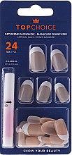 Düfte, Parfümerie und Kosmetik Künstliche Nägel French 74042 - Top Choice
