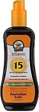 Düfte, Parfümerie und Kosmetik Sonnenschutzspray-Öl SPF 15 - Australian Gold Tea Tree&Carrot Oils Spray SPF15
