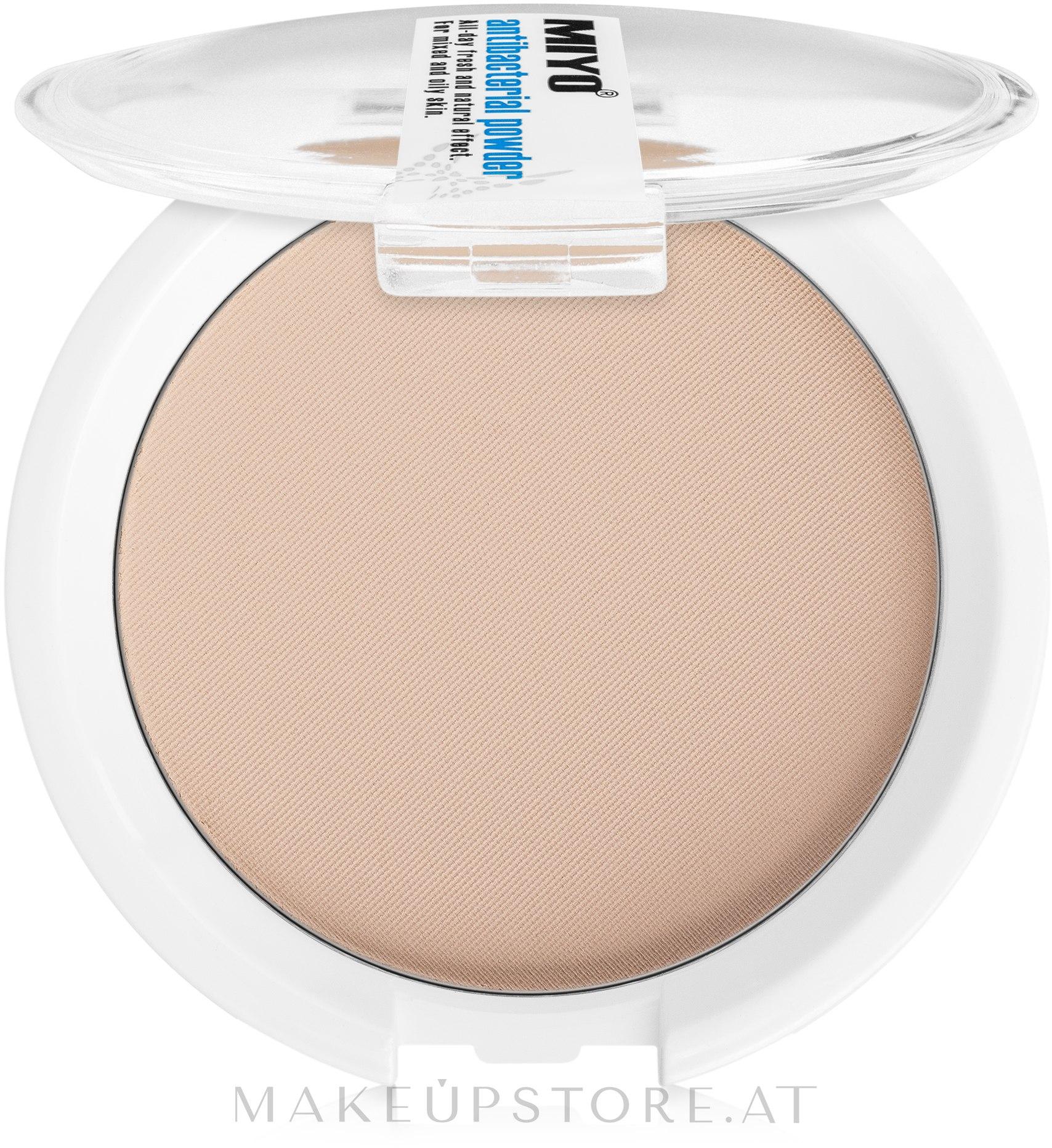 Antibakterielles Kompaktpuder für Gesicht - Miyo Antibacterial Powder — Bild Hipoallergenic