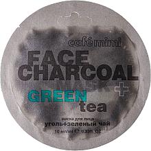 Düfte, Parfümerie und Kosmetik Gesichtsmaske mit Bambuskohle und grünem Tee - Cafe Mimi Charkoal & Green Tee Face Mask