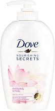 """Düfte, Parfümerie und Kosmetik Flüssige Handseife """"Lotus"""" - Dove Nourishing Secrets Glowing Ritual Hand Wash"""