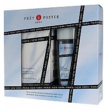 Düfte, Parfümerie und Kosmetik Coty Pret A Porter Original - Duftset (Eau de Toilette 100ml + Parfümiertes Körperspray 75ml)