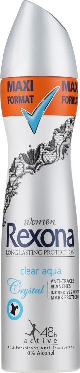 Deospray Clear Aqua - Rexona Deodorant Spray — Bild N1