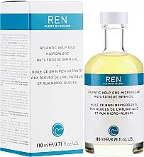 Düfte, Parfümerie und Kosmetik Badeöl mit Algen- und Planktonextrakten - Ren Atlantic Kelp and Magnesium Anti-Fatigue Bath Oil