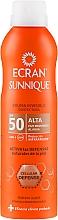Düfte, Parfümerie und Kosmetik Unsichtbares Sonnensutzspray für den Körper mit Zitronenöl SPF 50 - Ecran Sun Lemonoil Spray Protector Invisible SPF50