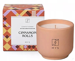 Düfte, Parfümerie und Kosmetik Soja-Duftkerze Zimtschnecke - Mys Cinnamon Rolls Candle